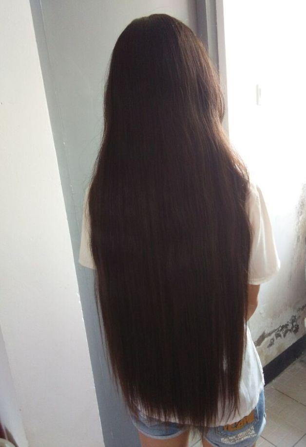 calf length long hair of 19 years girl chinalonghaircom